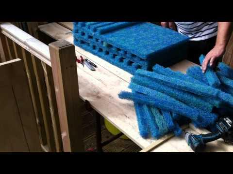 Koi Pond (Japanese mat cutting) our way (part 3)