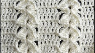 getlinkyoutube.com-Crochet : Punto en Relieve Combinado