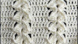 Crochet : Punto en Relieve Combinado