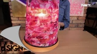 getlinkyoutube.com-Dsign - Handcraft - Lampu gantung dari tempat sampah
