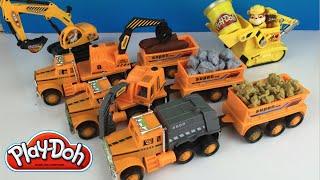 getlinkyoutube.com-Play Doh fun with Project Truck Mechanism Zone aka Mighty Machines Excavator Bulldozer & Paw Patrol