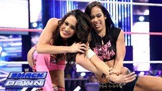 getlinkyoutube.com-Brie Bella vs. AJ Lee: SmackDown, Oct. 18, 2013