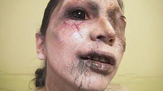 getlinkyoutube.com-「P.T. Silent Hills」リサメイク方法(化粧)Lisa Makeup Tutorial
