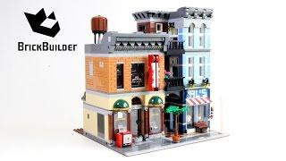 getlinkyoutube.com-Lego Creator 10246 Detective's Office - Lego Speed Build