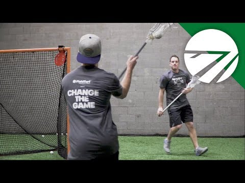 Feeding from X │ Passing Drill │ Lacrosse Training with Colin Doyle