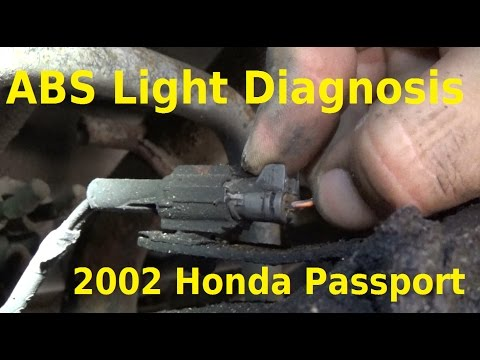 2002 Honda Passport ABS Light Diagnosis - Automotive Education