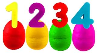 getlinkyoutube.com-Play Doh Numbers Surprise | ABC Songs for Children, Kindergarten Kids Learn the Alphabet, Toys