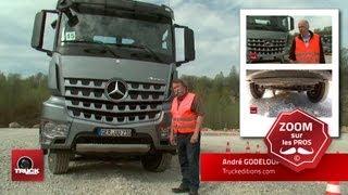 getlinkyoutube.com-L'Arocs montre les dents ! Prise en main du Mercedes Arocs à Düsseldorf