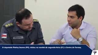 Visita ao Centro de Formação da Academia de Polícia (CFAP)