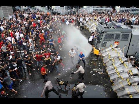 Hasil Akhir Sidang Sengketa Pilpres MK 2014   Kerusuhan Kubu Prabowo Hatta