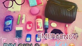 getlinkyoutube.com-♡ DIY School EMERGENCY kit for girls♡ {2016-17}