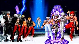 Kof Mugen Orochi Team VS Rugal Team