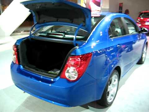 2012 Chevrolet Sonic sedan walkaround at CIAS 2011