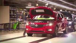 getlinkyoutube.com-New 2015 Opel Astra -Assembly Plant Gliwicach Footage