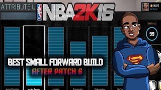 getlinkyoutube.com-NBA 2K16 - Best Small Forward Build - Overall 99 Attributes - My Park / Pro-Am Patch After Patch 6