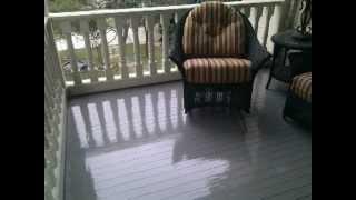 ... Painting A Wooden Porch Patio Floor Exterior Painting A Painter Of San  Antonio Texas You · Floor Patio Latex Enamels · Benjamin Moore ...