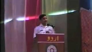 getlinkyoutube.com-Funny Speech by Pakistani Navy Boy about Girls UET Taxila