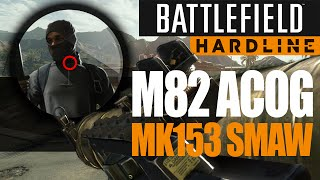 getlinkyoutube.com-Learning to Snipe - Barrett ACOG and MK153 SMAW - Battlefield Hardline