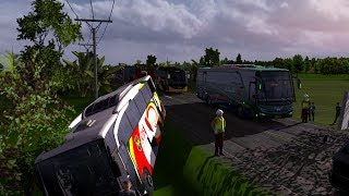ALS jalur Sumatra Ekstrim || ets2 bus mod indonesia