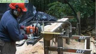 getlinkyoutube.com-Portable Chainsaw Mill - Logosol M7