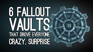 getlinkyoutube.com-6 Fallout Vaults That Drove Everyone Super Crazy, Surprise