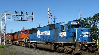 getlinkyoutube.com-Trains on the Norfolk Southern Harrisburg Line 2008: Volume 4