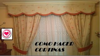 getlinkyoutube.com-Costura: Como hacer cortinas,  decora tu hogar muy fácil -Todo en Uno