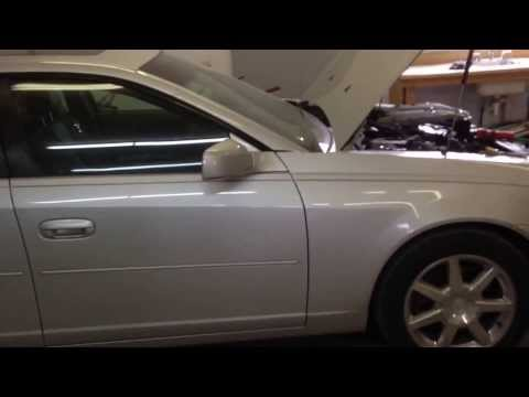 Cadillac CTS Coolant Temperator Sensor Replacement
