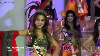 getlinkyoutube.com-MISS APARRI 2015 Coronation Night (Presentation / Introduction of Candidates)
