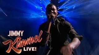 Usher, Nas & Bibi Bourelly - Chains (live @ Jimmy Kimmel Live)