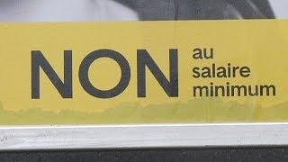 Los suizos rechazan, por mayoría, la instauración de un salario mínimo de 3.270 euros