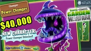 Power Chomper Unlocked! $40,000 Rare Plants vs. Zombies Garden Warfare Spectacular Character Pack