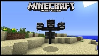 getlinkyoutube.com-WITHER EN MINECRAFT POCKET EDITION 0.14.0
