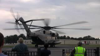 getlinkyoutube.com-Rotorfest 2010 - CH-53E Startup and Takeoff