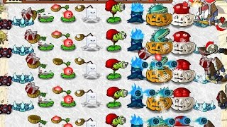 getlinkyoutube.com-CHRISTMAS MOOD PLANTS VS ZOMBIES