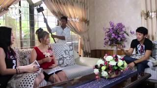 "getlinkyoutube.com-Sai Sai & Wutt Hmone: Together at ""Sezar Thit Pin"" Movie Making"