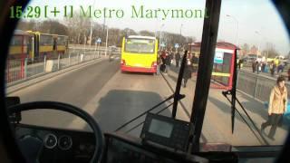 getlinkyoutube.com-Ikarusem po Warszawie - Linia 511