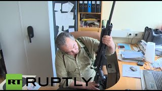 getlinkyoutube.com-Austria: Refugee crisis sees gun sales soar, says Vosendorf shop owner