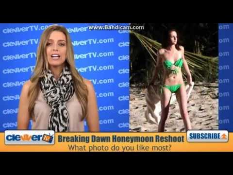 Robert Pattinson & Kristen Stewart 'Breaking Dawn' Honeymoon Scene Reshoot Pics