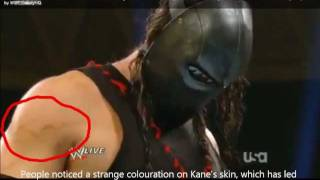 WHO IS BEHIND THE MASK??? MASKED KANE RETURN (WWE RAW 12/12/11) MUST WATCH