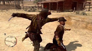 getlinkyoutube.com-Red Dead Redemption Funny/Brutal Kill Compilation Vol.10 (Last Stand/Knife/Cliffs/Funny Moments)
