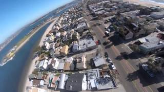 getlinkyoutube.com-Syma X8C Drone Crash on San Diego Roof (GoPro Hero 4 Session)