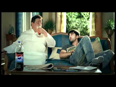 PEPSI latest ad campaign   teaser of the TVC with Ranbir and Rishi Kapoor