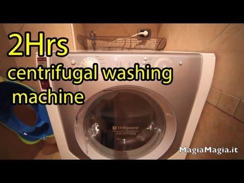 2 hrs Sound of the washing machine spin White Noise
