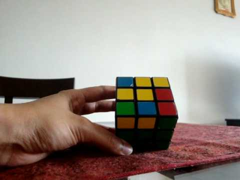 Rubiks Cube Solution Explanation, Instruction, Step-by-step Equations and Formula - Part 2 of 3