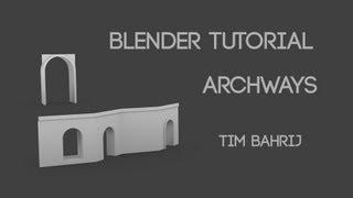 getlinkyoutube.com-Blender archway topology tutorial: Constraining tri's