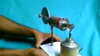 getlinkyoutube.com-Model Stirling engines by Subir Bhaduri, Pune, India!!!