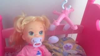 getlinkyoutube.com-❀ Куклы Пупсики Бэби Элайв Видео Играем в дочки матери Игрушки для Девочек Сопли Baby Alive  Doctor