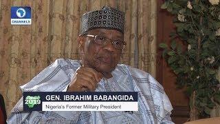 IBB Chats On Insurgency,Buhari,2019 Election & MKO Abiola Pt.1  Roadmap 2019 
