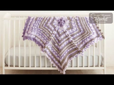 How to Crochet A Baby Blanket: Magic Snowflake Star